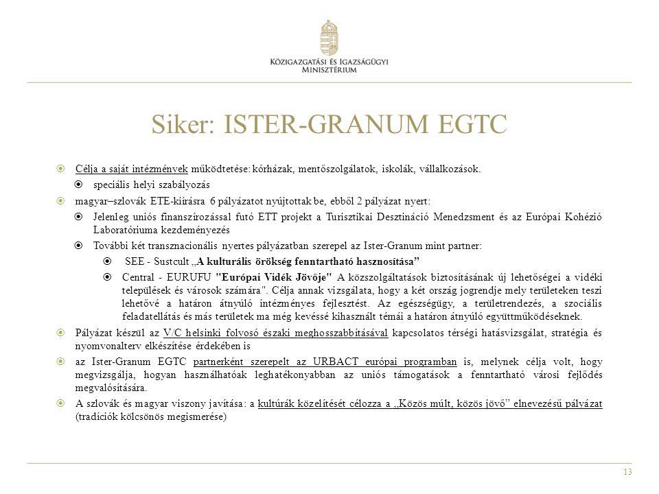 Siker: ISTER-GRANUM EGTC