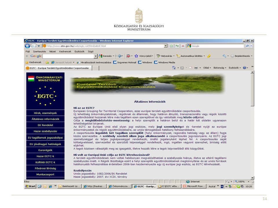 Jogszabályi változások 2010 decemberétől