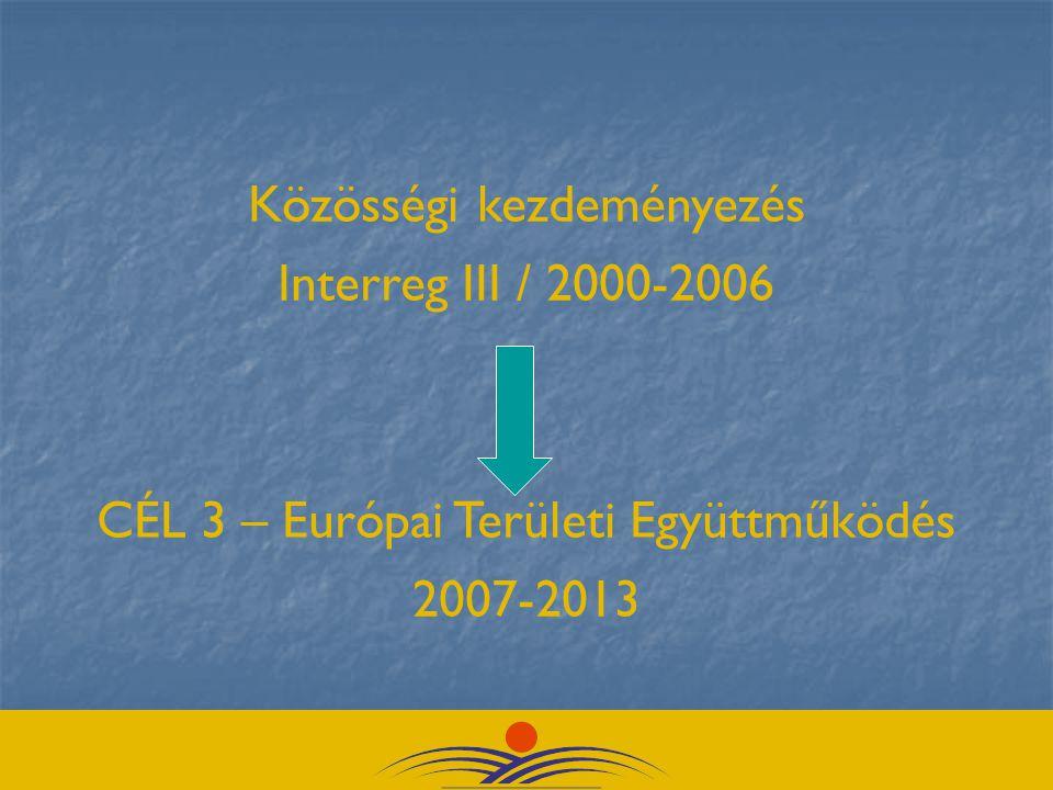 Közösségi kezdeményezés Interreg III / 2000-2006