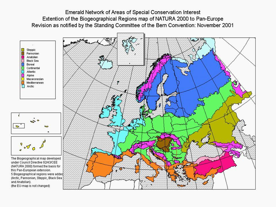 Az új tagállamok az EU-t új, a Pannon biogeográfiai régióval is gazdagították.