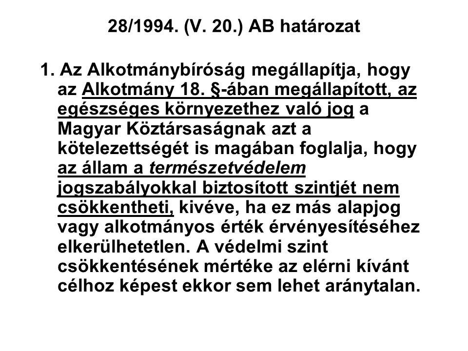 28/1994. (V. 20.) AB határozat