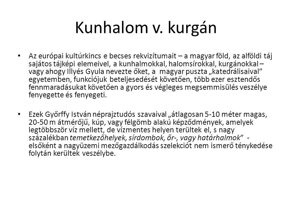 Kunhalom v. kurgán