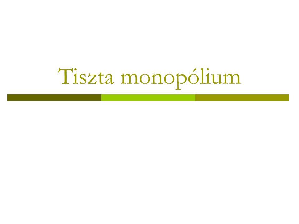 Tiszta monopólium