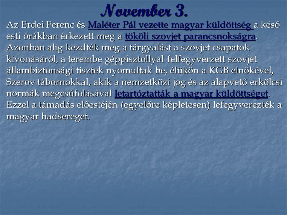 November 3.