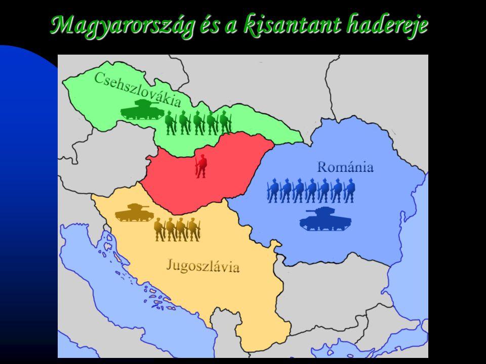 Magyarország és a kisantant hadereje