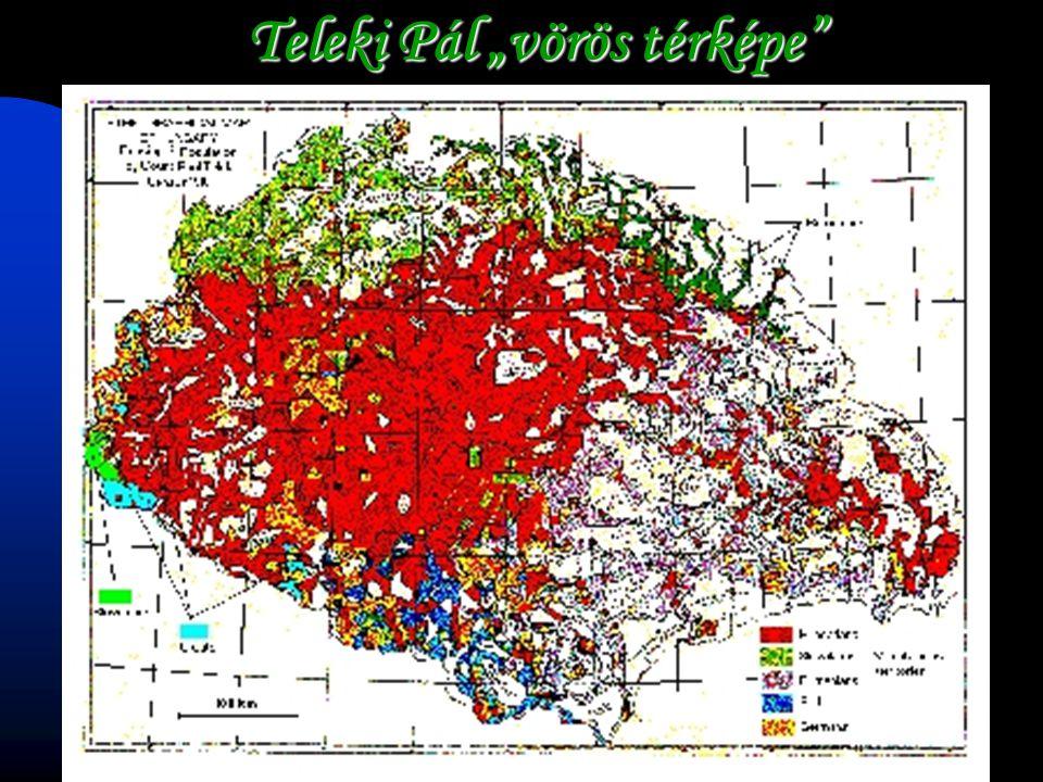 """Teleki Pál """"vörös térképe"""
