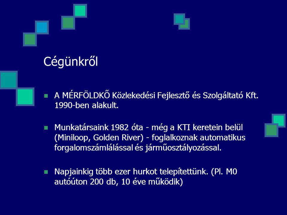Cégünkről A MÉRFÖLDKŐ Közlekedési Fejlesztő és Szolgáltató Kft. 1990-ben alakult.