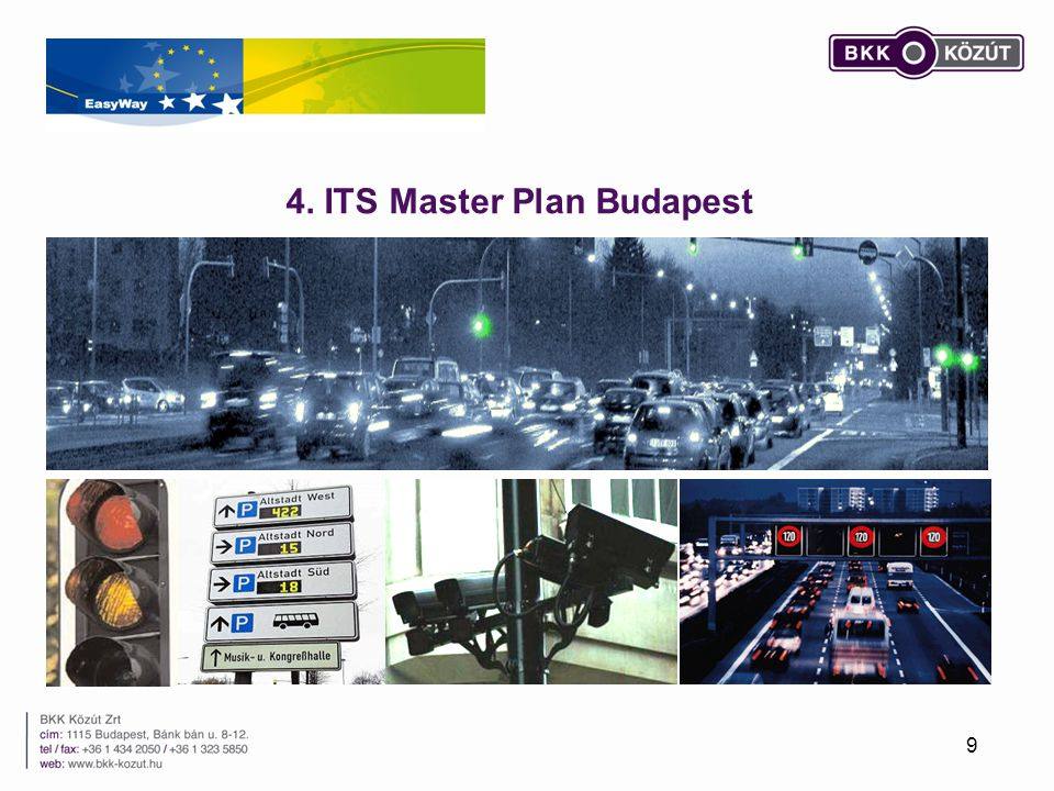 4. ITS Master Plan Budapest