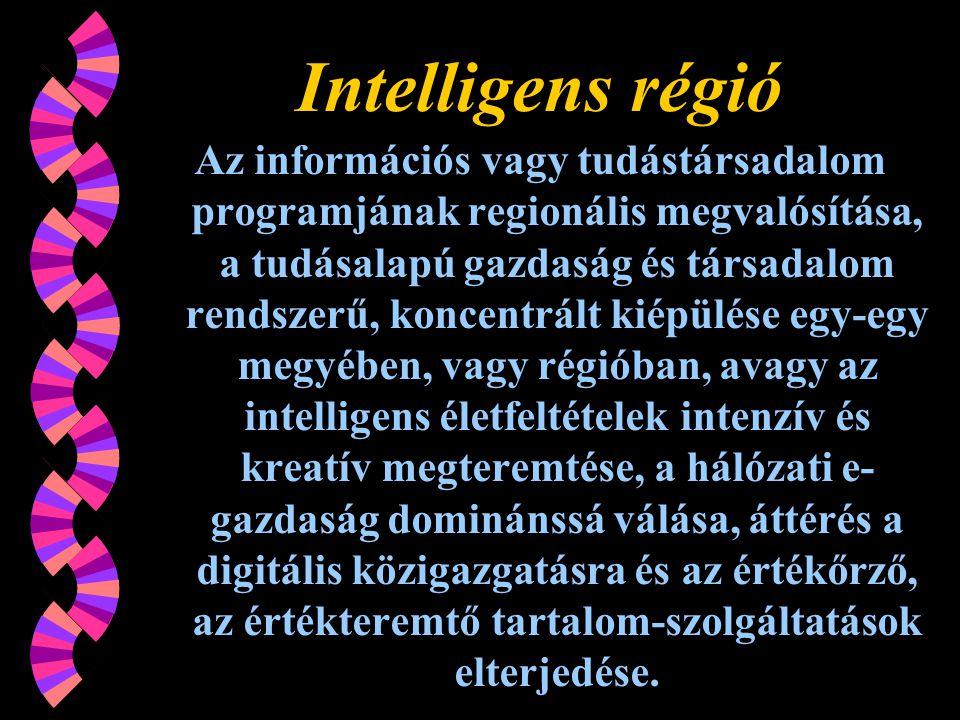 Intelligens régió