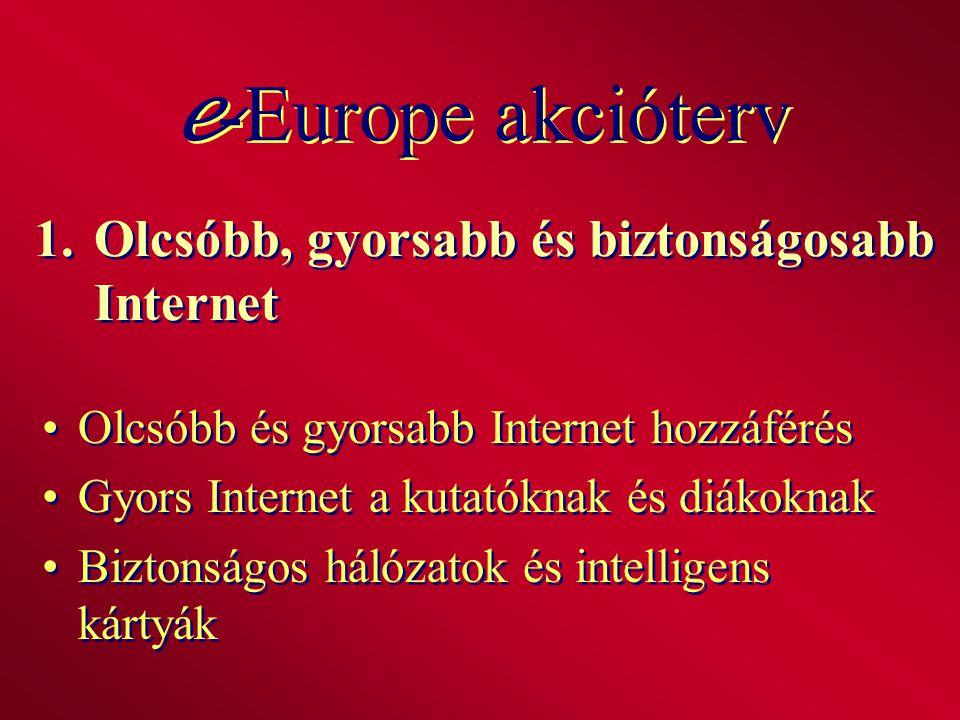 1. Olcsóbb, gyorsabb és biztonságosabb Internet