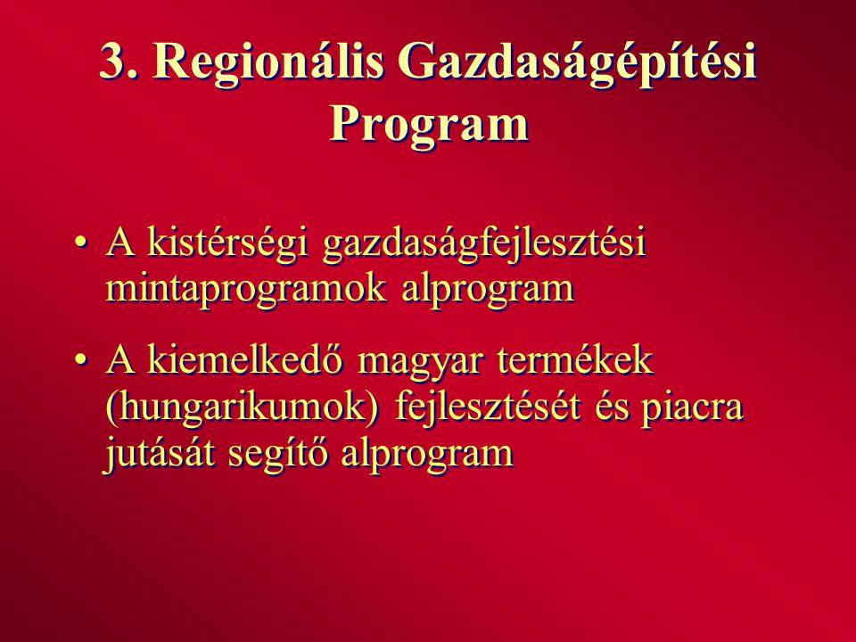 3. Regionális Gazdaságépítési Program