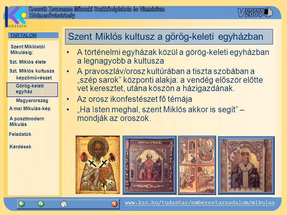Szent Miklós kultusz a görög-keleti egyházban