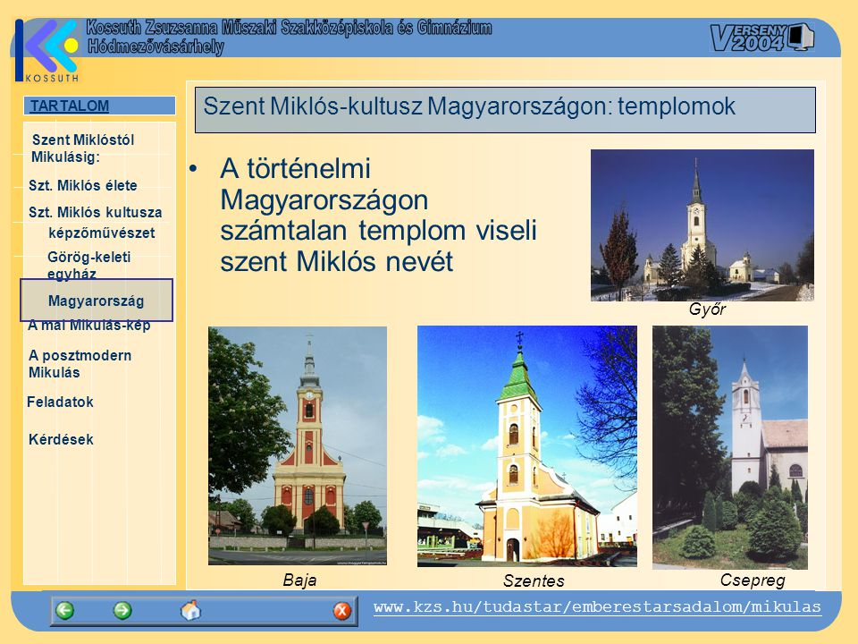 Szent Miklós-kultusz Magyarországon: templomok