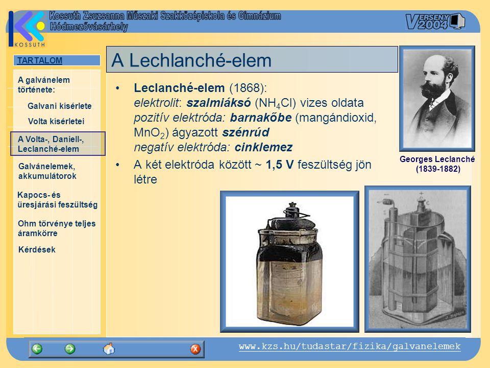 A Lechlanché-elem
