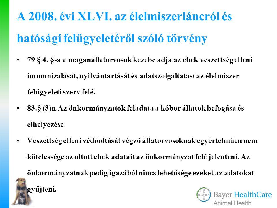 A 2008. évi XLVI. az élelmiszerláncról és hatósági felügyeletéről szóló törvény