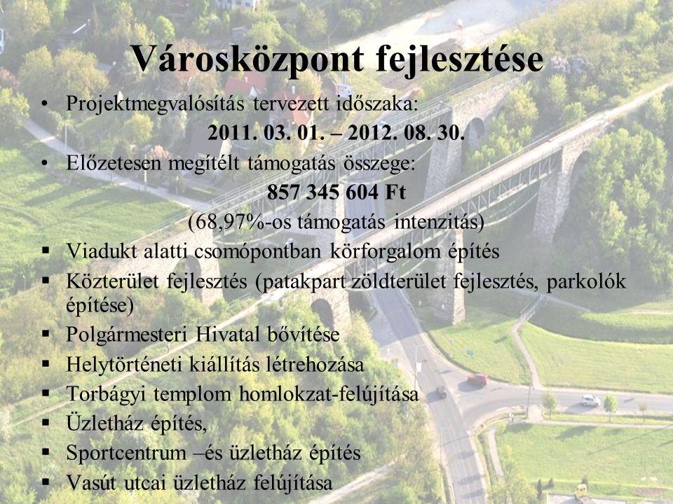 Városközpont fejlesztése
