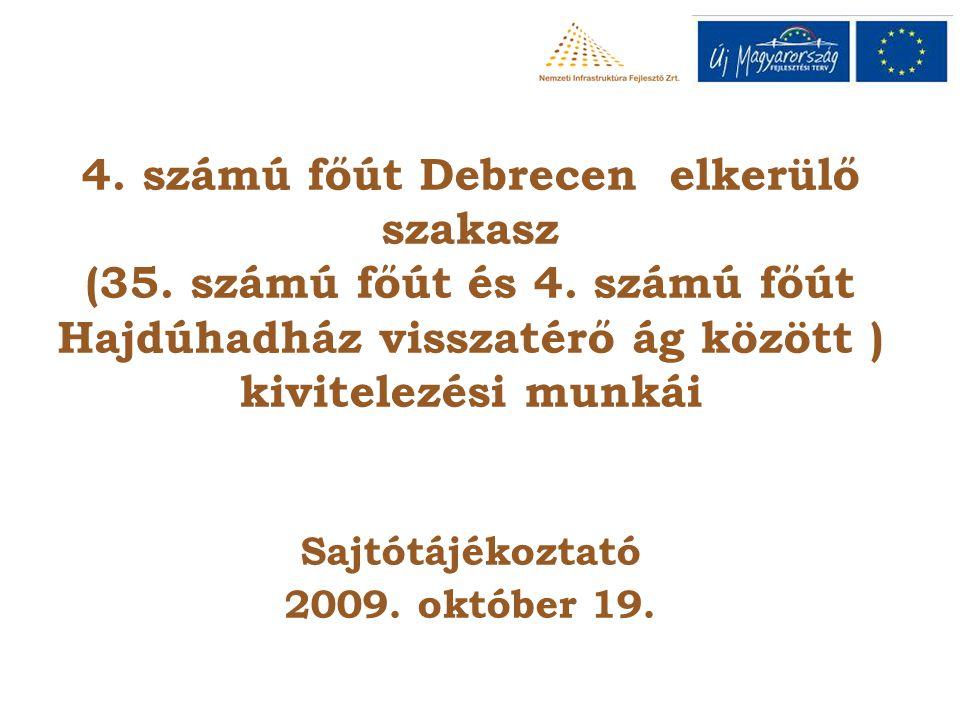 4. számú főút Debrecen elkerülő szakasz