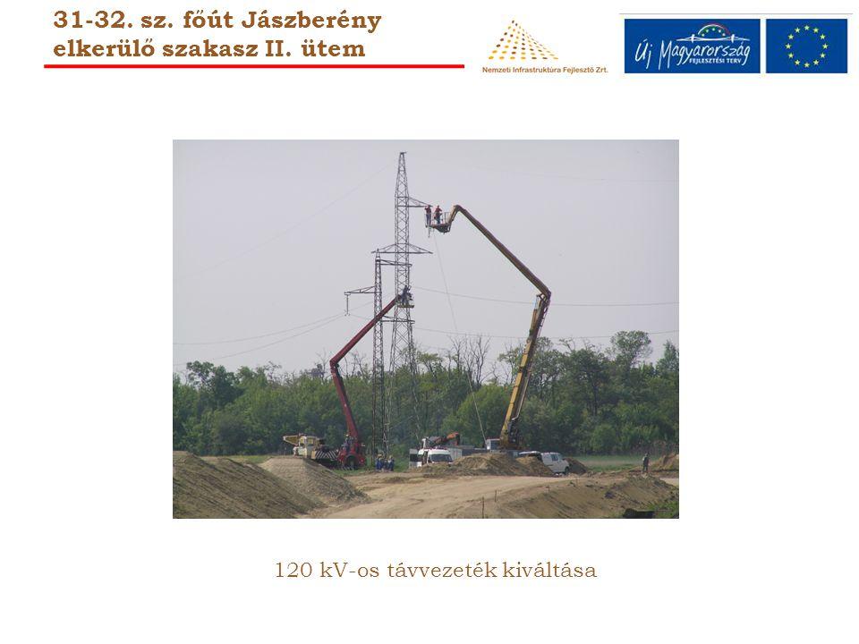 120 kV-os távvezeték kiváltása