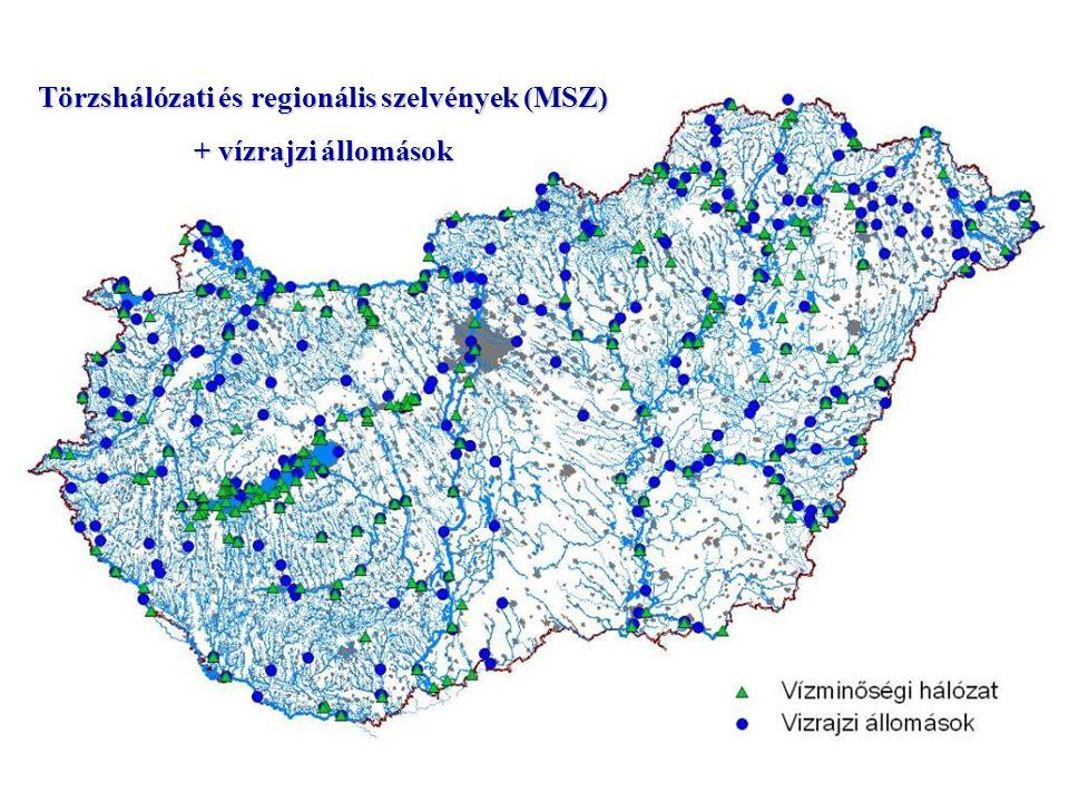 Törzshálózati és regionális szelvények (MSZ)