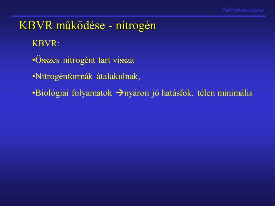 KBVR működése - nitrogén