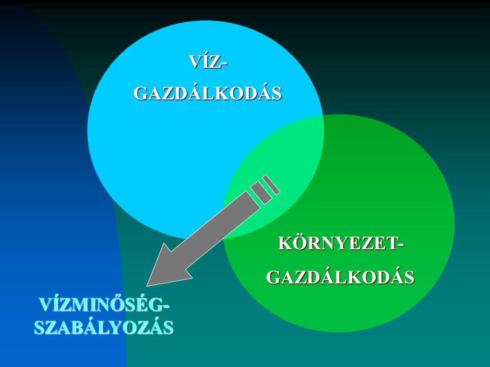 VÍZMINŐSÉG-SZABÁLYOZÁS