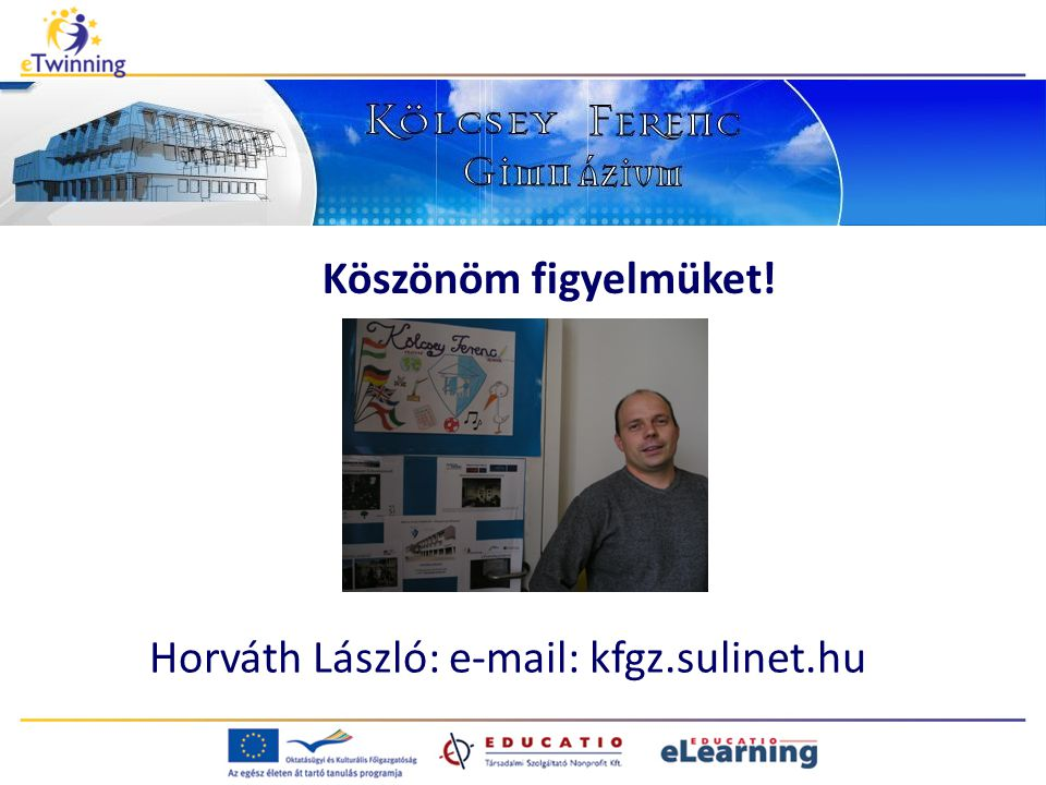 Horváth László: e-mail: kfgz.sulinet.hu