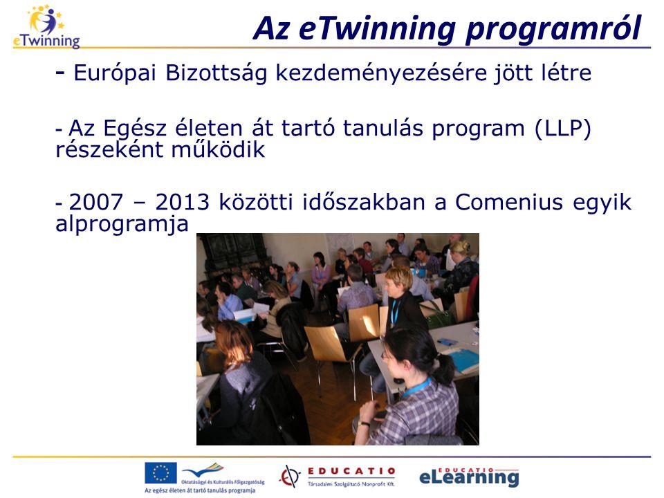Az eTwinning programról