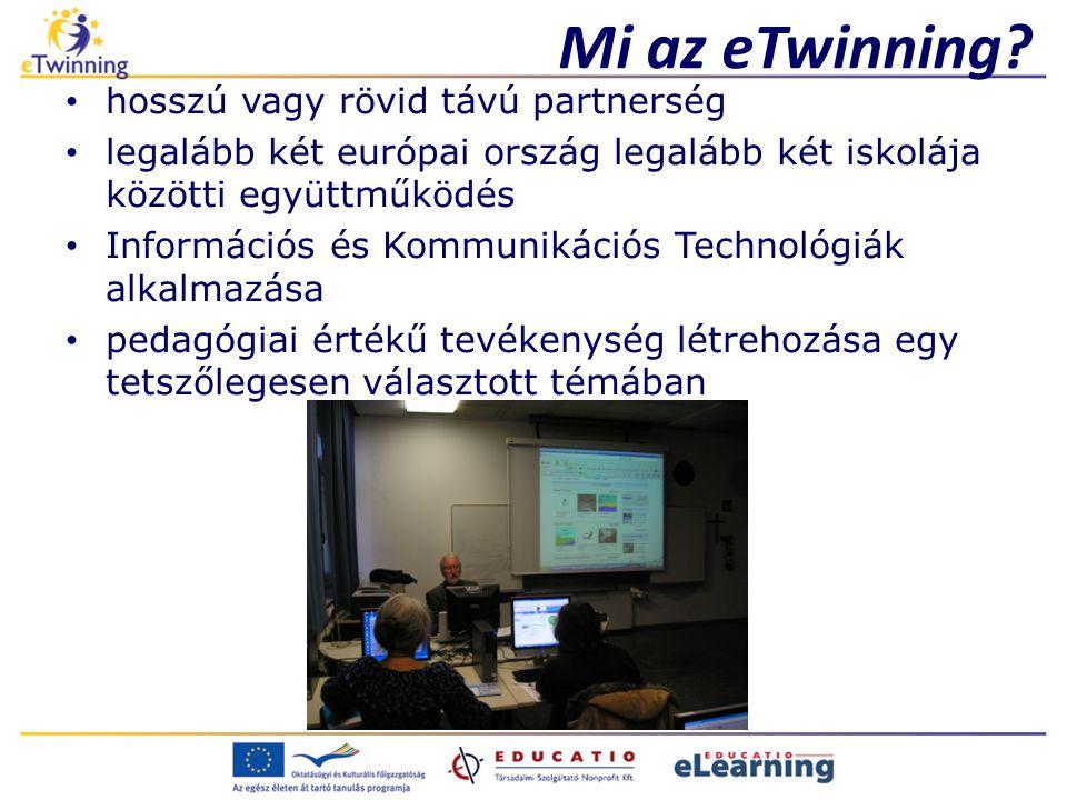 Mi az eTwinning hosszú vagy rövid távú partnerség