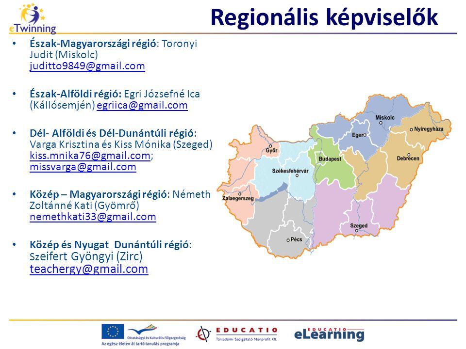 Regionális képviselők