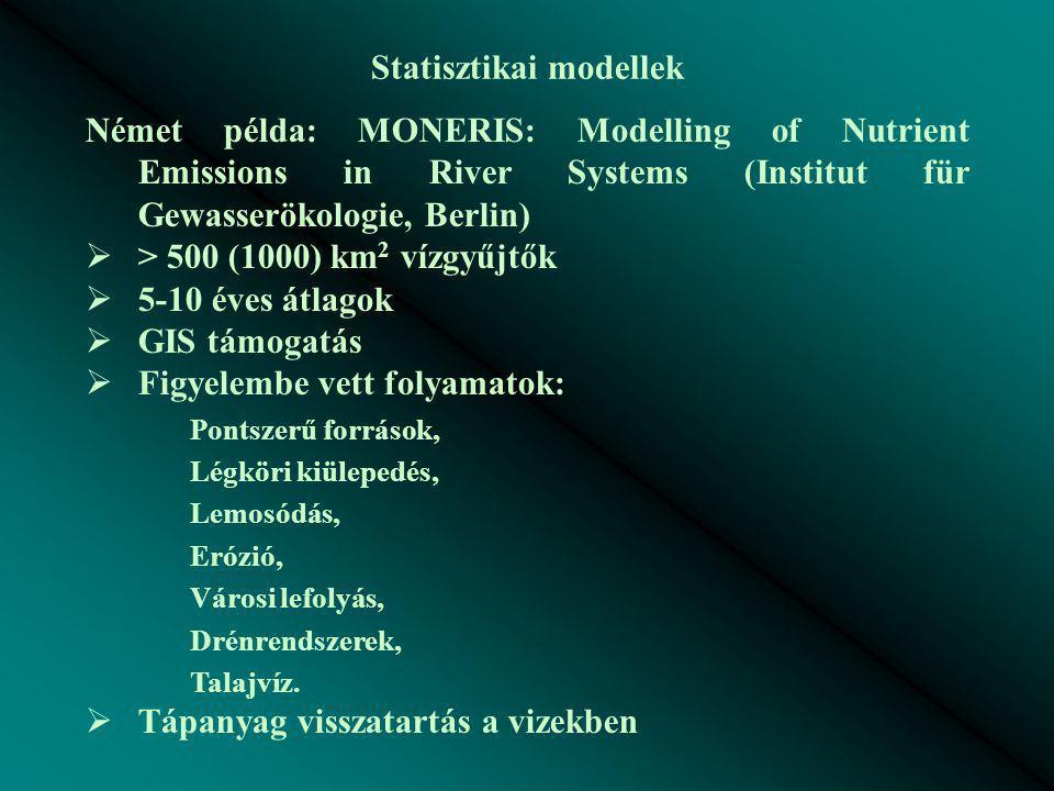 Statisztikai modellek
