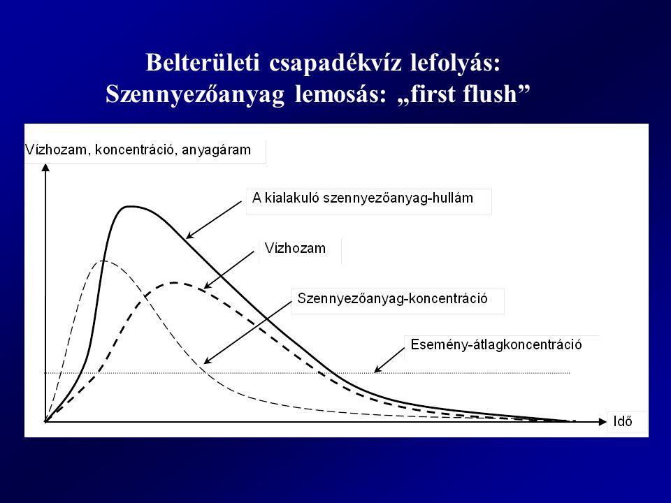 Belterületi csapadékvíz lefolyás: