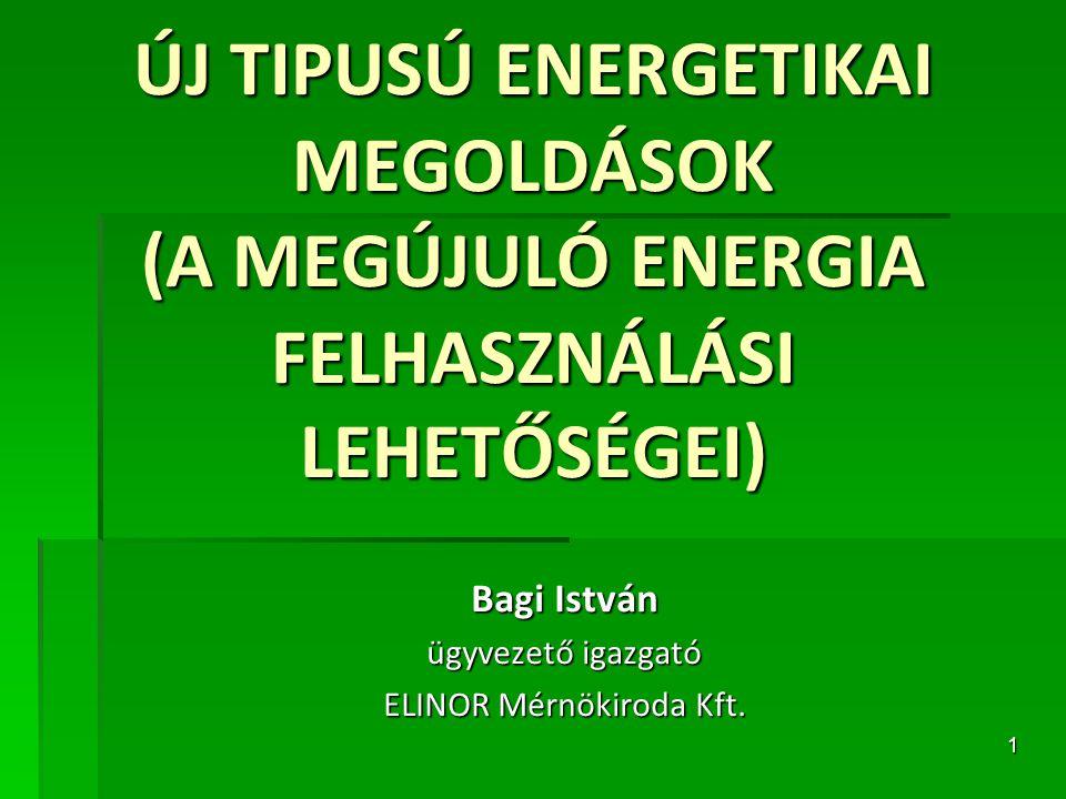 Bagi István ügyvezető igazgató ELINOR Mérnökiroda Kft.