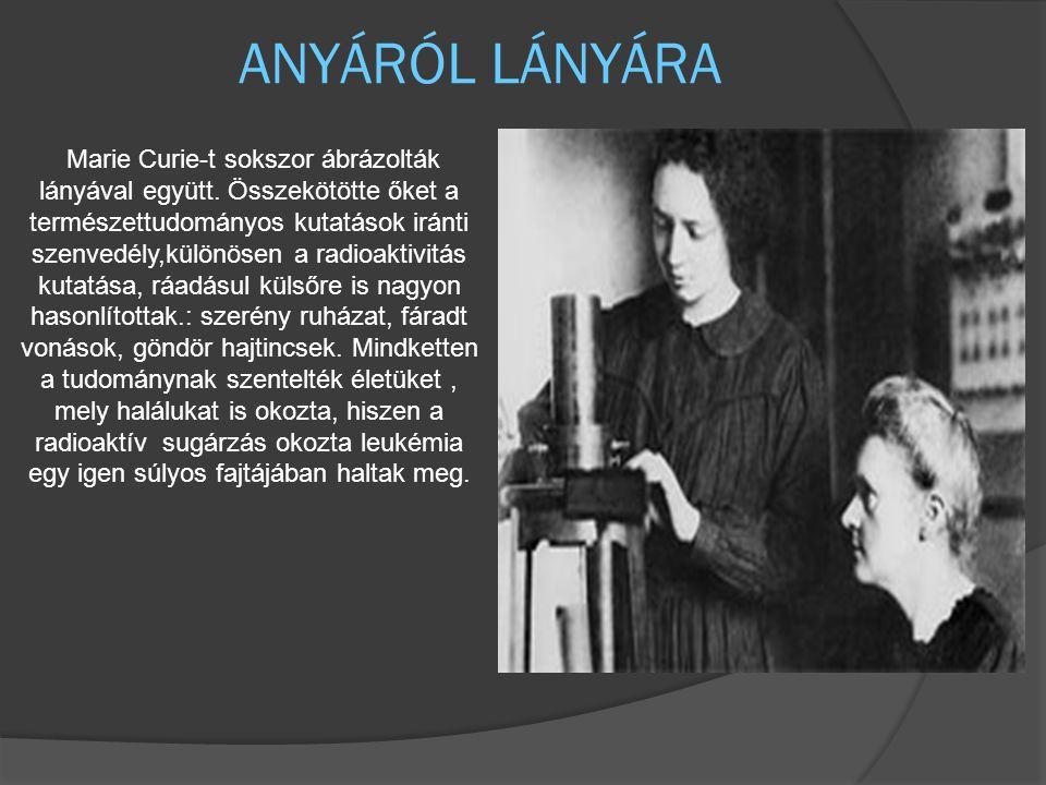 ANYÁRÓL LÁNYÁRA