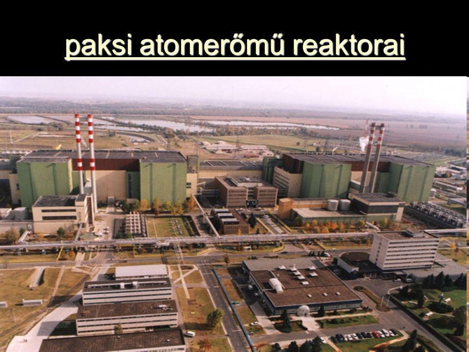paksi atomerőmű reaktorai