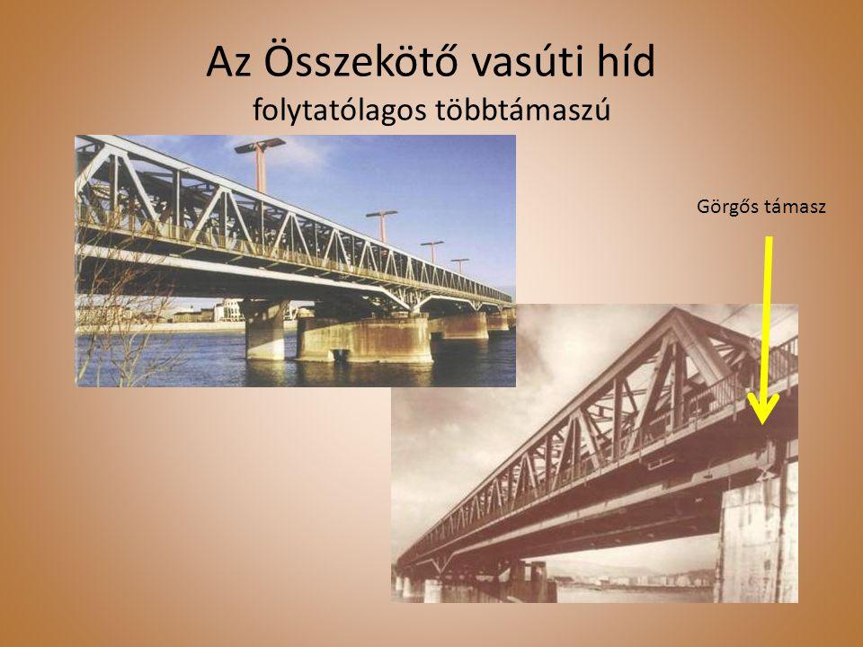 Az Összekötő vasúti híd folytatólagos többtámaszú