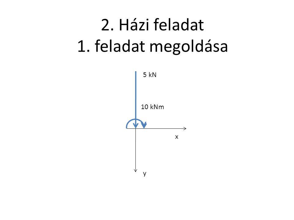 2. Házi feladat 1. feladat megoldása
