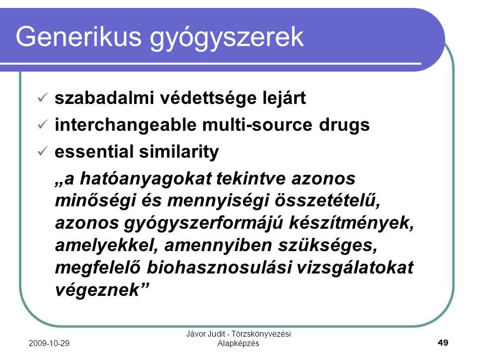 Generikus gyógyszerek