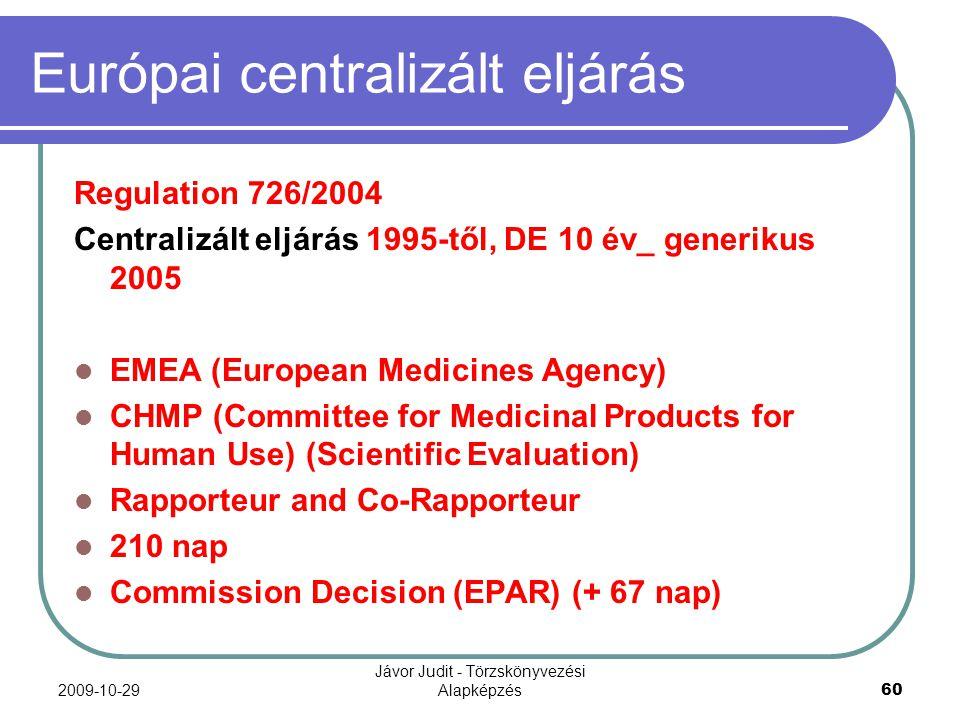 Európai centralizált eljárás