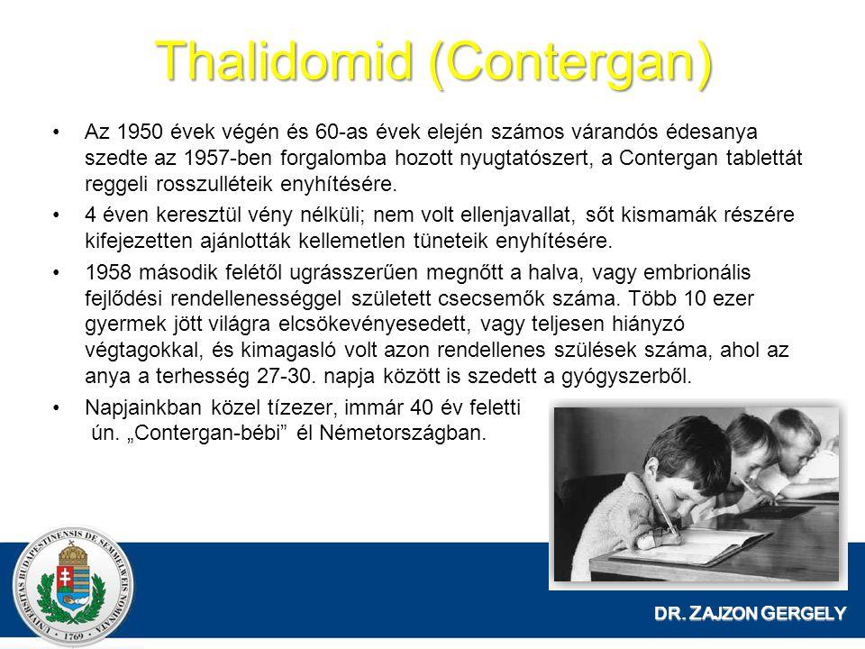 Thalidomid (Contergan)