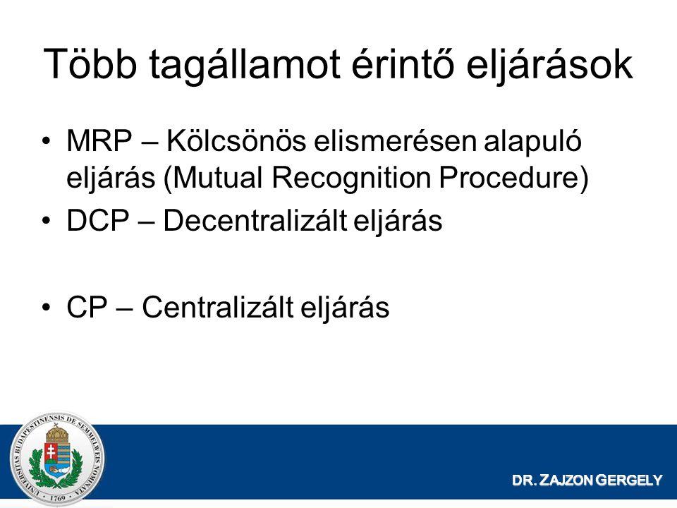 Több tagállamot érintő eljárások
