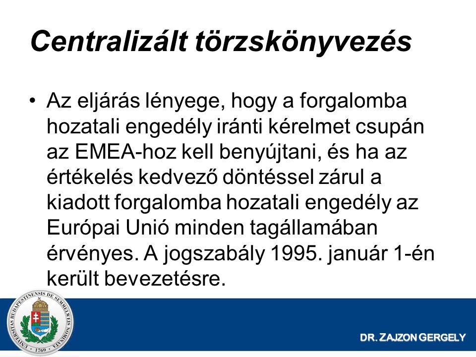 Centralizált törzskönyvezés