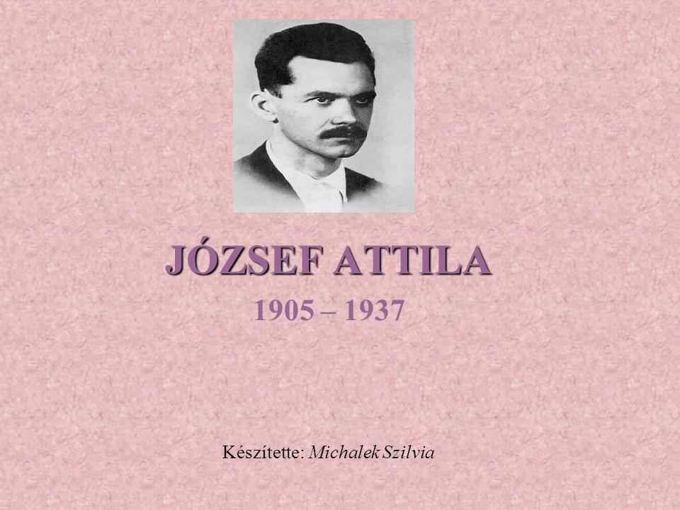 1905 – 1937 Készítette: Michalek Szilvia
