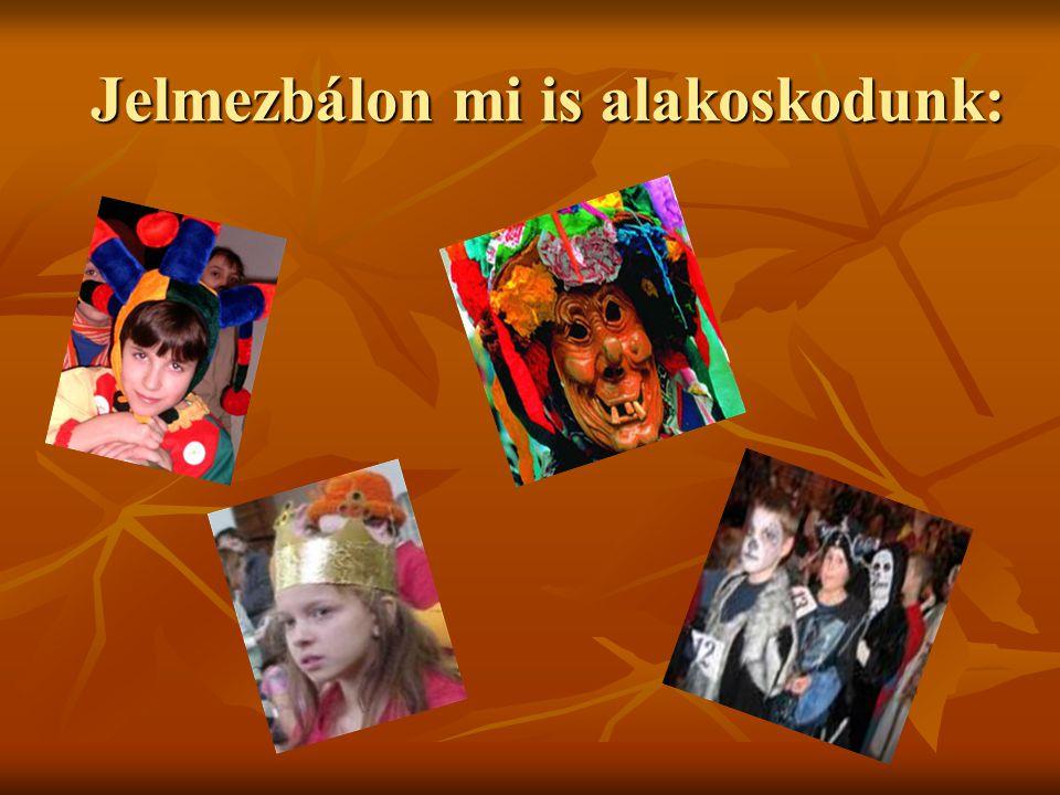 Jelmezbálon mi is alakoskodunk: