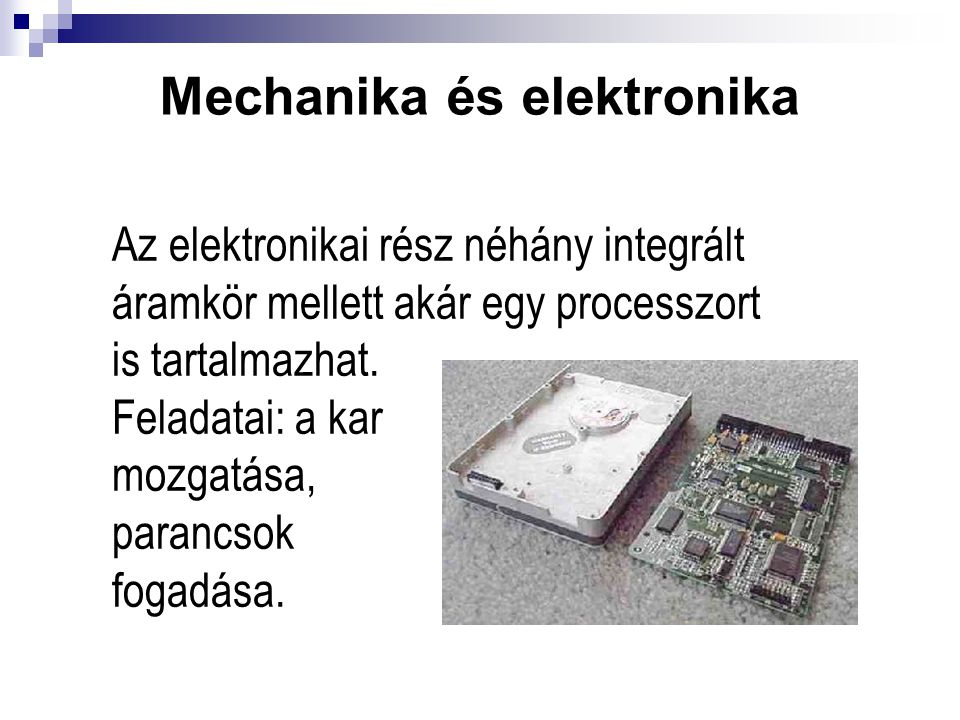 Mechanika és elektronika