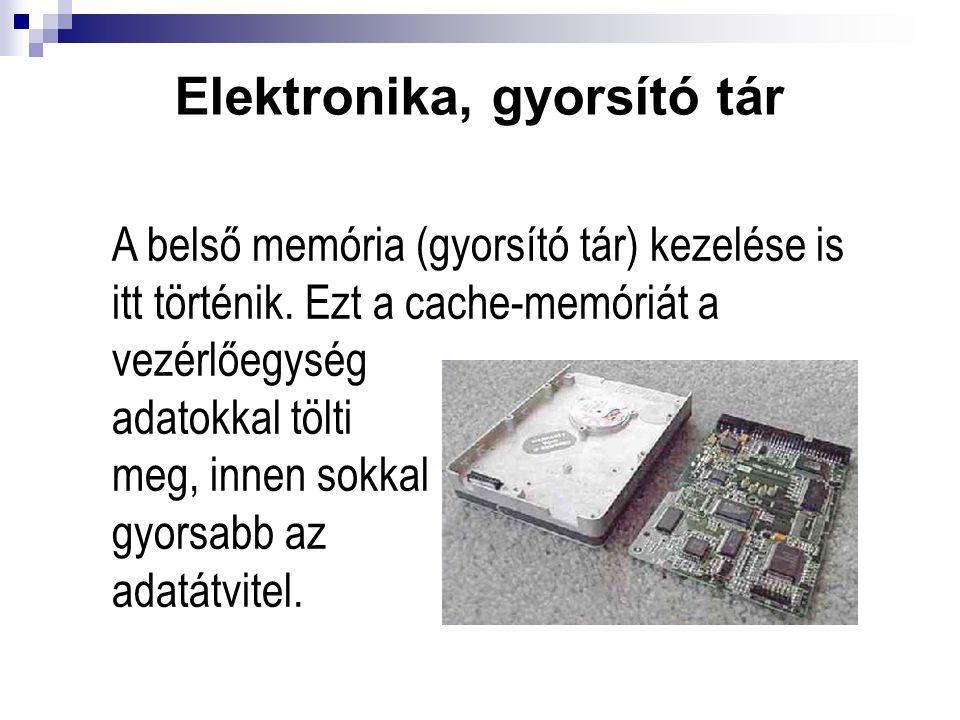 Elektronika, gyorsító tár