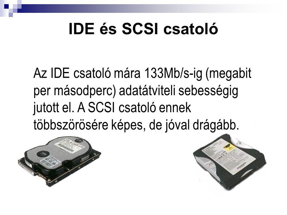 IDE és SCSI csatoló