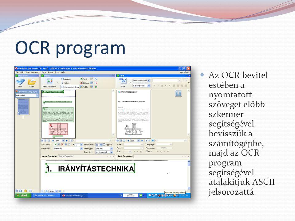 OCR program