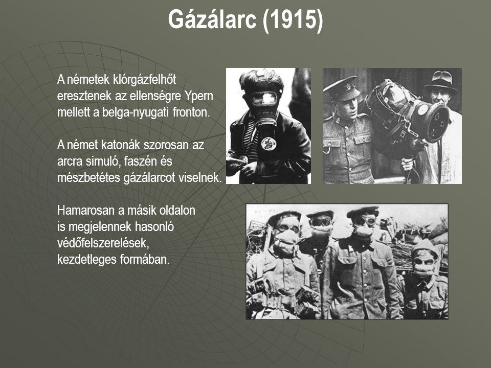 Gázálarc (1915)