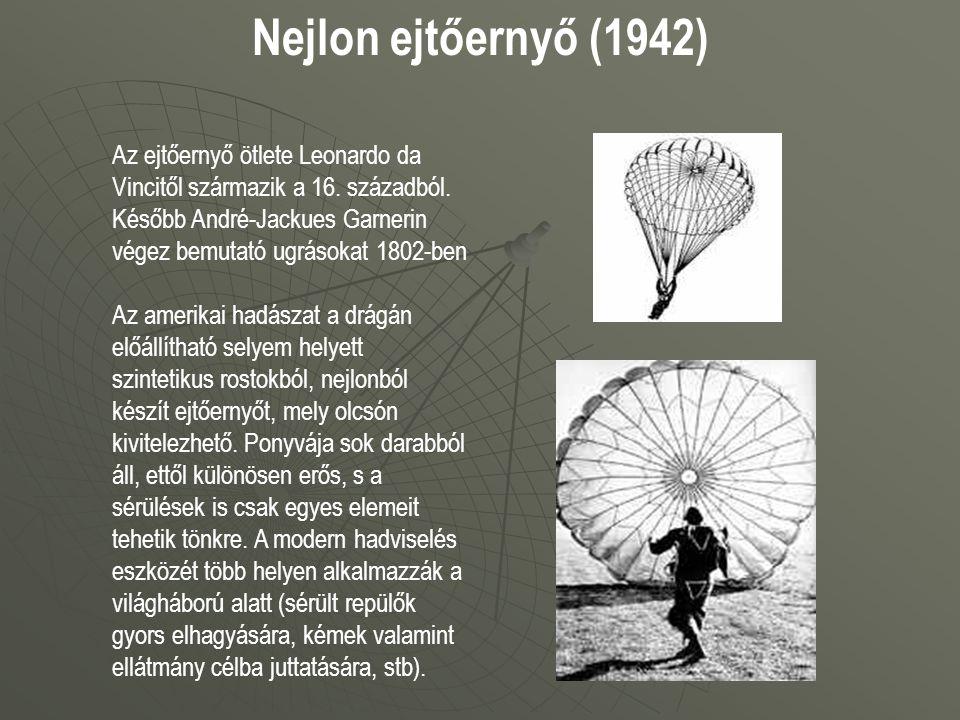 Nejlon ejtőernyő (1942)