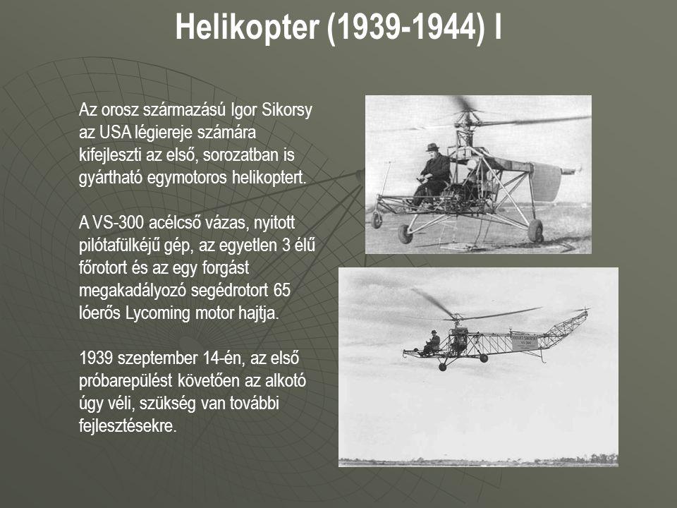 Helikopter (1939-1944) I